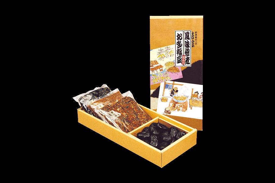 画像1: お多福豆と風味佃煮の詰合せ (1)